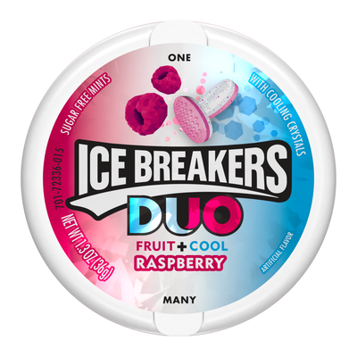 Hershey's Ice Breakers Duo Mints Raspberry