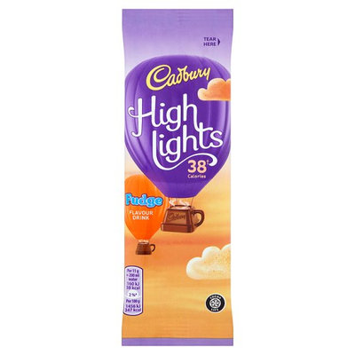 Cadbury Highlights Fudge Flavour Instant Hot Chocolate