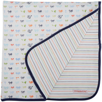Magnificent Baby Bikes Reversible Blanket - Blue - 1 ct.