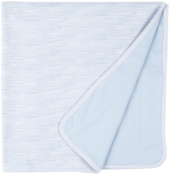 Magnificent Baby 'Birch' Reversible Blanket (Baby) - Blue - 1 ct.