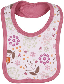 Magnificent Baby Mod Floral Reversible Bib (Baby) - Pink - 1 ct.
