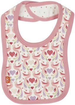 Magnificent Baby Love Birds Bib (Baby) - Pink - 1 ct.