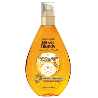 Garnier Whole Blends Moroccan Argan And Camellia Oils Extracts Illuminating Oil