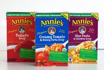 Annie's Homegrown Certified Organic Soups