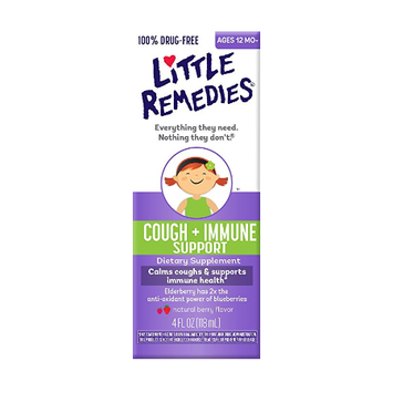 LITTLE REMEDIES® COUGH + IMMUNE SUPPORT