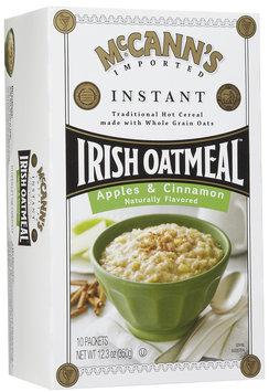 Mccann's McCanns Instant Irish Oatmeal Apple Cinnamon, 10 ct