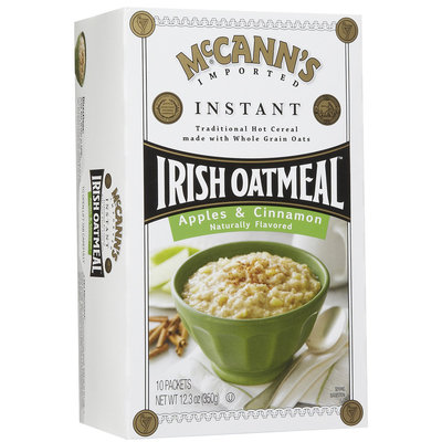 Mccann's McCanns Instant Irish Oatmeal Apple Cinnamon, 10 ct