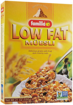 Familia Low Fat Muesli Cereal, 21 oz