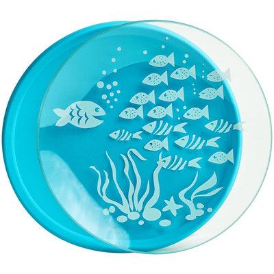 Brinware School of Fish Glass Dish - Blue