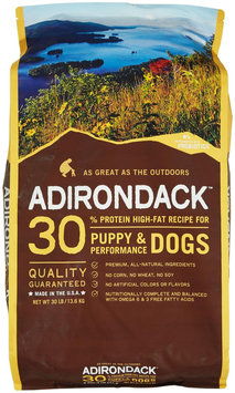 Adirondack 30 High-Fat Recipe For Puppy & Performance Dogs - Chicken