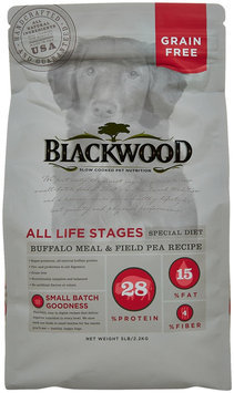 Blackwood 5 Lb Grain Free Buffalo Dog Food (22356)
