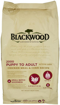 Blackwood 30 lbs. Original Formula 2000 Puppy To Adult Dog Food (BWFE2000 30)