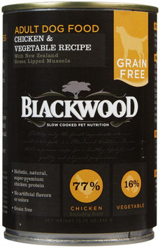 Blackwood Grain Free Chicken, Salmon & Pumpkin Adult Recipe Canned Dog Food