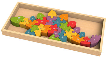 Begin Again Dinosaur Puzzle A to Z
