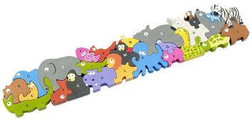 Begin Again Animal Parade Puzzle Jumbo Edition