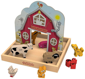 BeginAgain Sounds Around The Farm Story Box Playset