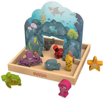 BeginAgain Colors We Sea Story Box Playset