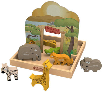 BeginAgain What I Like. Safari Story Box Playset
