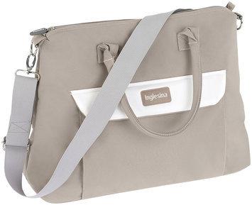 Inglesina Trilogy Messenger Diaper Bag Color: Cream/White