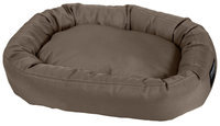 Stainmaster Plush Oval Pet Bed Size: Small - 27