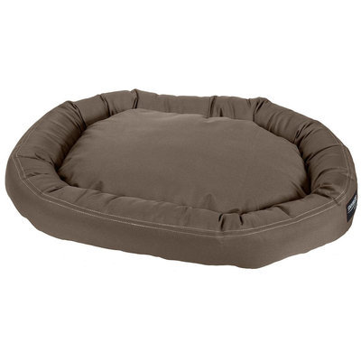 Stainmaster Plush Oval Pet Bed Color: Olive, Size: Large - 42