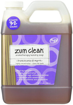 Indigo Wild - Zum Clean Aromatherapy Laundry Soap Frankincense & Myrrh - 32 oz.