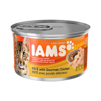 Iams™ Adult Premium Pate with Gourmet Chicken Cat Food