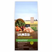 Iams™ Healthy Naturals™ Adult Farm-raised Chicken + Barley Recipe Dog Food