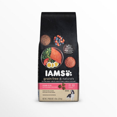 Iams™ Grain-Free Naturals™ Adult Grain Free Salmon + Red Lentils Dog Food