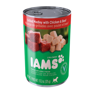 Iams™ Proactive Health™ Adult Ground Mixed Grill with Chicken and Beef Dog Food