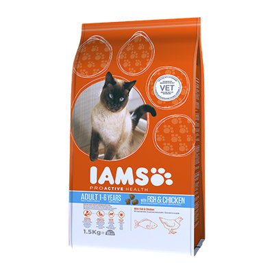 Iams™ Proactive Health Adult with Wild Ocean Fish & Chicken Cat Food