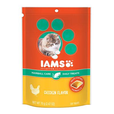 Iams™ Proactive Health™ Hairball Chicken Flavor Daily Treats Cat Food