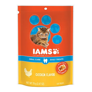 Iams™ Proactive Health™ Oral Care Chicken Flavor Daily Treats Cat Food