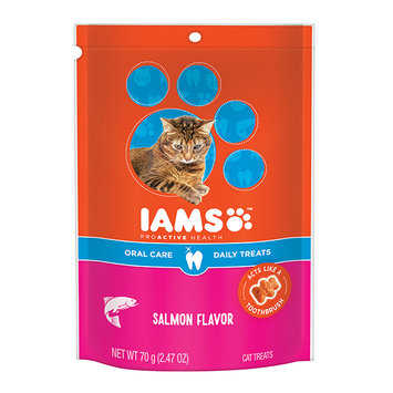 Iams™ Proactive Health™ Oral Care Salmon Flavor Daily Treats Cat Food