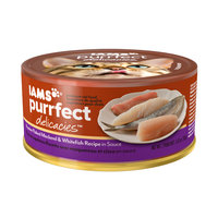 Iams™ Purrfect Delicacies™ Premier Flaked Mackerel & Whitefish Recipe in Sauce Cat Food