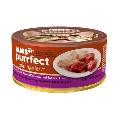 Iams™ Purrfect Delicacies™ Select Cuts with Roasted Chicken & Beef Entrée Cat Food