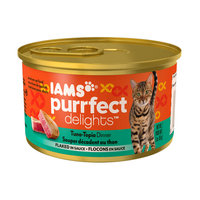 Iams™ Purrfect Delights™ Tuna-topia Dinner Flaked In Sauce Cat Food