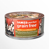 Iams™ Purrfect Grain Free White Meat Chicken Breast & Tuna Recipe Wet Cat Food