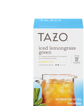 Tazo Iced Lemongrass Green
