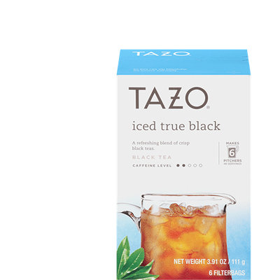 Tazo Iced True Black