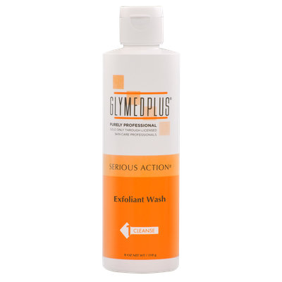 GlyMed Plus Serious Action Exfoliant Wash 8 oz