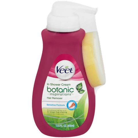 Veet® Botanic Inspirations® In Shower Hair Removal Cream (Sensitive Formula)