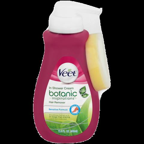 Veet® Botanic Inspirations® In Shower Hair Removal Cream (Sensitive Formula)