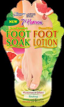 7th Heaven Juiced Grapefruit Foot Soak & Pressed Mint Foot Lotion