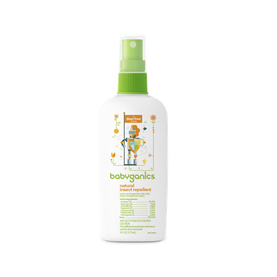 babyganics® natural insect repellent