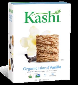 Kashi® Island Vanilla Whole Wheat Biscuits