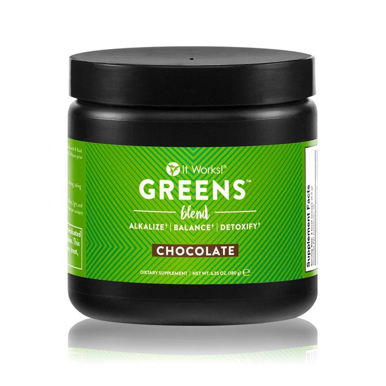 It Works Greens Blend Chocolate Reviews 2019