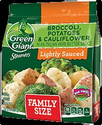 Green Giant® Steamers Broccoli, Potatoes & Cauliflower In An Italian Herb Butter Sauce