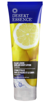 Desert Essence Italian Lemon Hand & Body Lotion