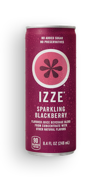Izze® Sparkling Juice Blackberry